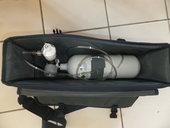 Sauerstoffflasche 2 L mit Notfalltasche